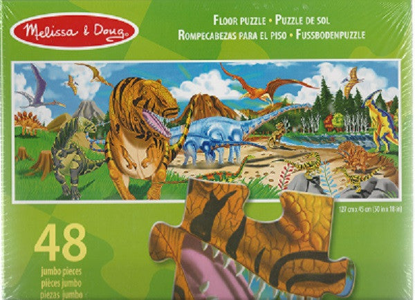 34. Land Of Dinosaurs Floor Puzzle (Age 3 Years+)