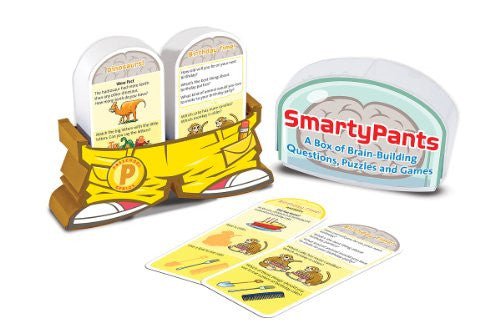 37. Smarty Pants - Brain Building Cards (Preschool) (Age 3 Years+)