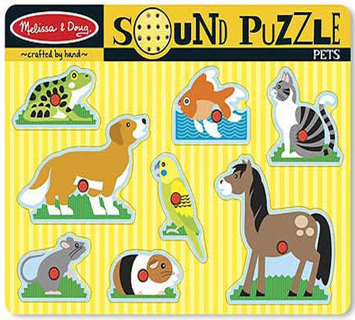 40. Sound Puzzle - Pets (Age 2 Years+)