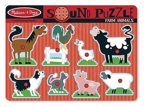 38. Sound Puzzle - Farm Animals