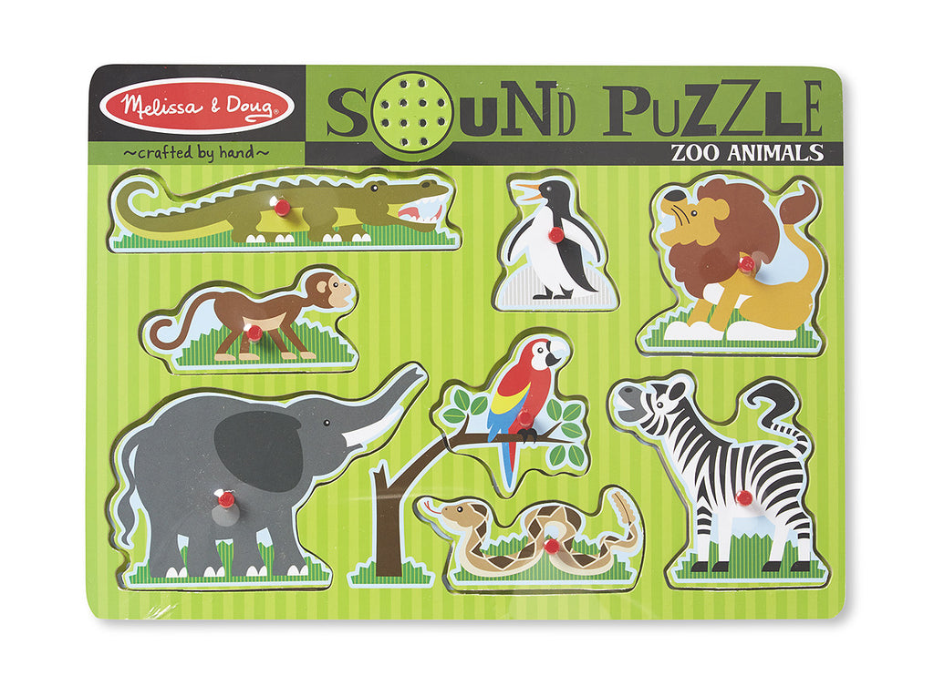 42. Sound Puzzle - Zoo Animals (Age 2 Years+)