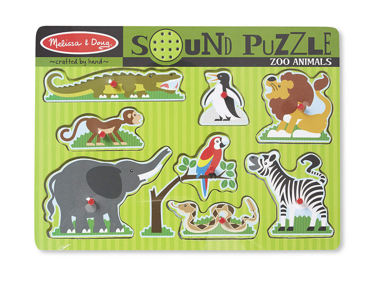 42 Sound Puzzle Zoo Animals Age 2 Years My Mom And Me