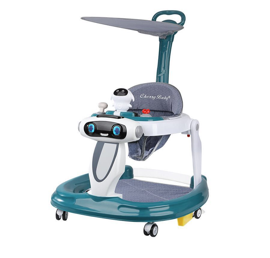Baby's Folding Learning Walker