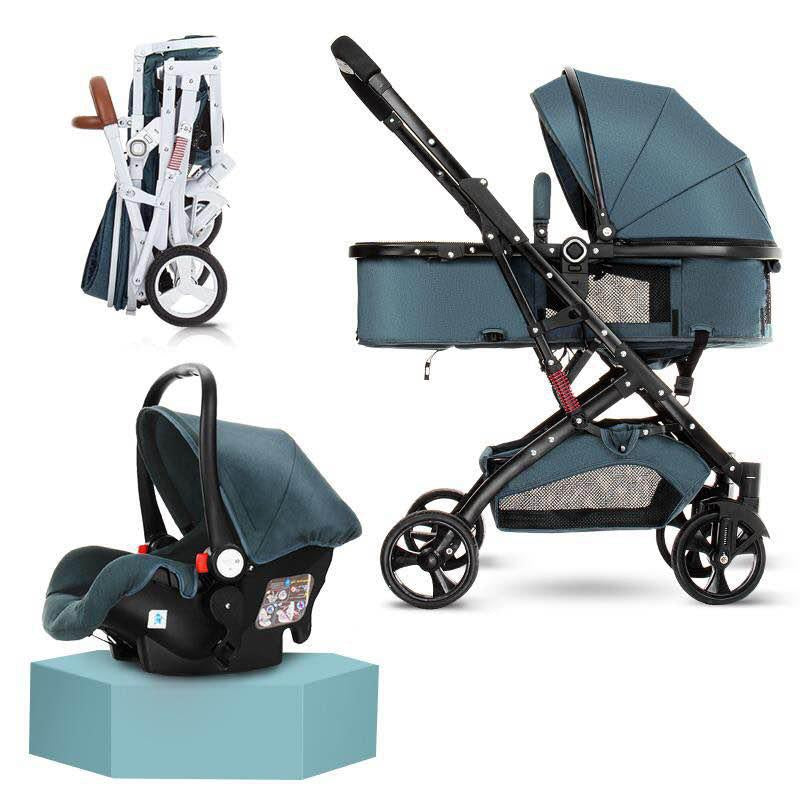 My Mom And Me Luxury Stroller - Green