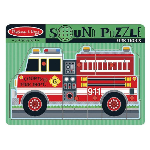 39. Sound Puzzle - Fire Truck (Age 3 Years+)