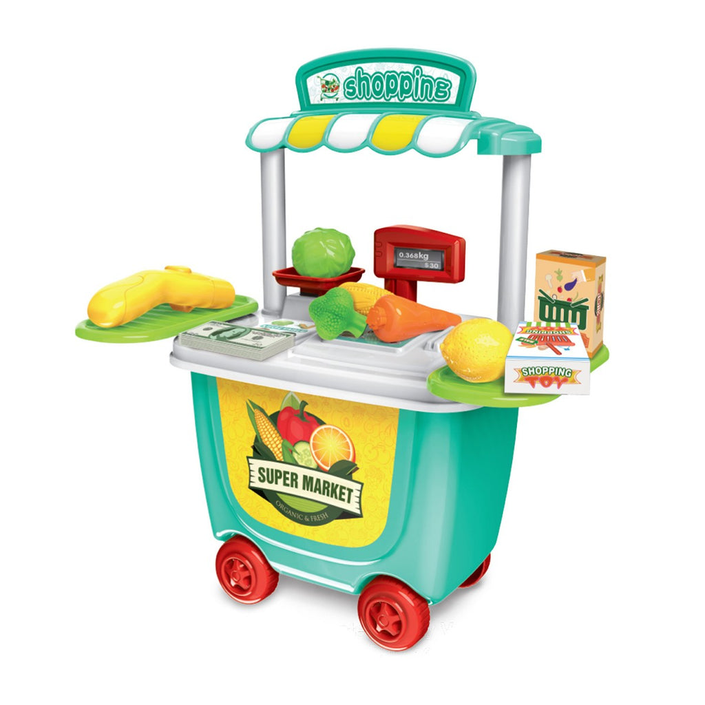 Supermarket Cart Play Set