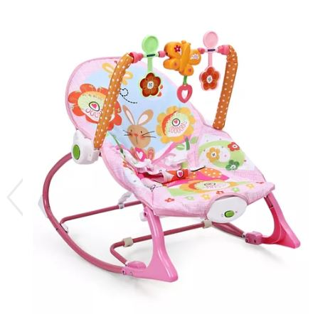IBaby Infant to Toddler Rocker - Pink