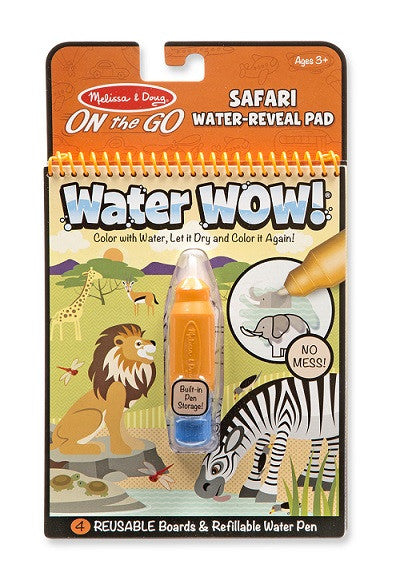 On The Go - Water Reveal Pad - Safari