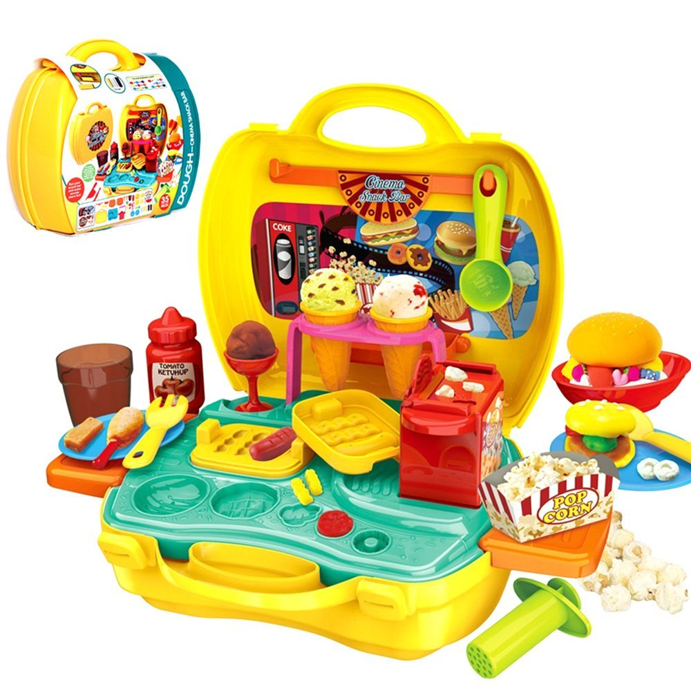 Dough Case Play Set - Snack Bar