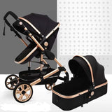 Belecoo Luxury Stroller - Tyrant - Black (STROLLER ONLY)
