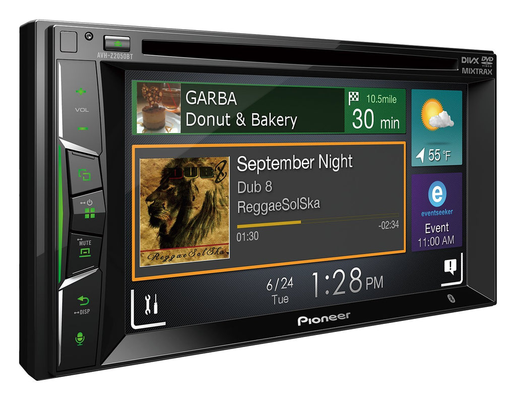 Pioneer AVH Z2050BT Monitor with DVD Player