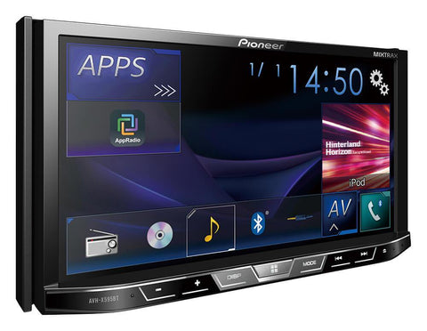 Pioneer AVH X595BT Monitor with DVD Player