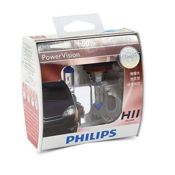 Philips Headlamp 12V 55W 12362 PWV