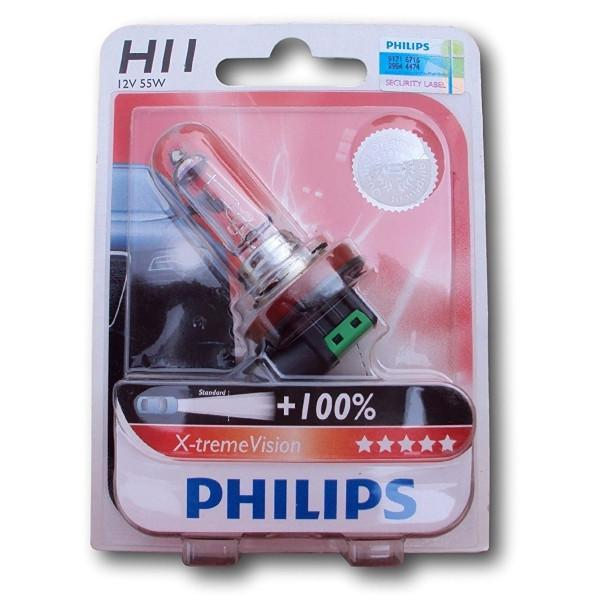 Philips Headlamp H11 XtremeVision 12V 55W 12362 XVS2
