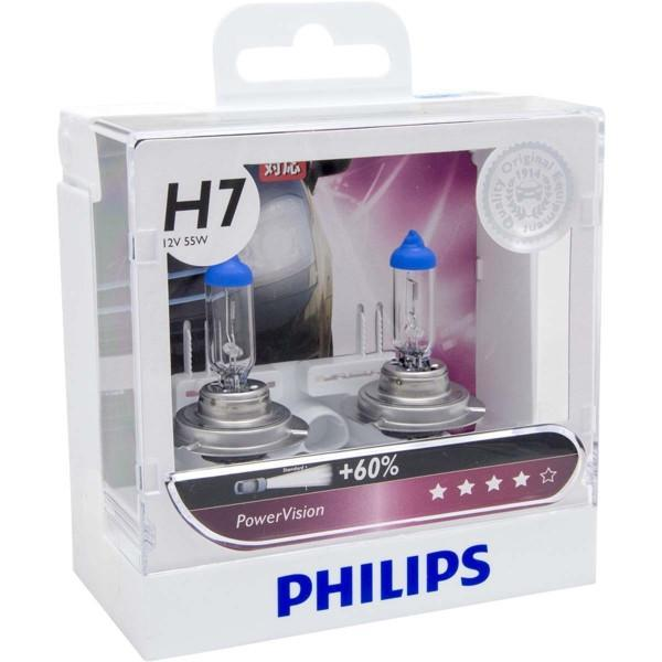 Philips Headlamp H7 PowerVision 12V 55W 12972 PWV