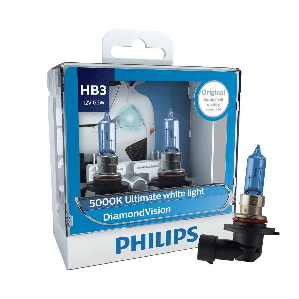 Philips Headlamp HB3 DiamondVision 12V 60/45W