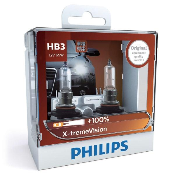 Philips Headlamp HB3 X-tremeVision 12V 60/55W