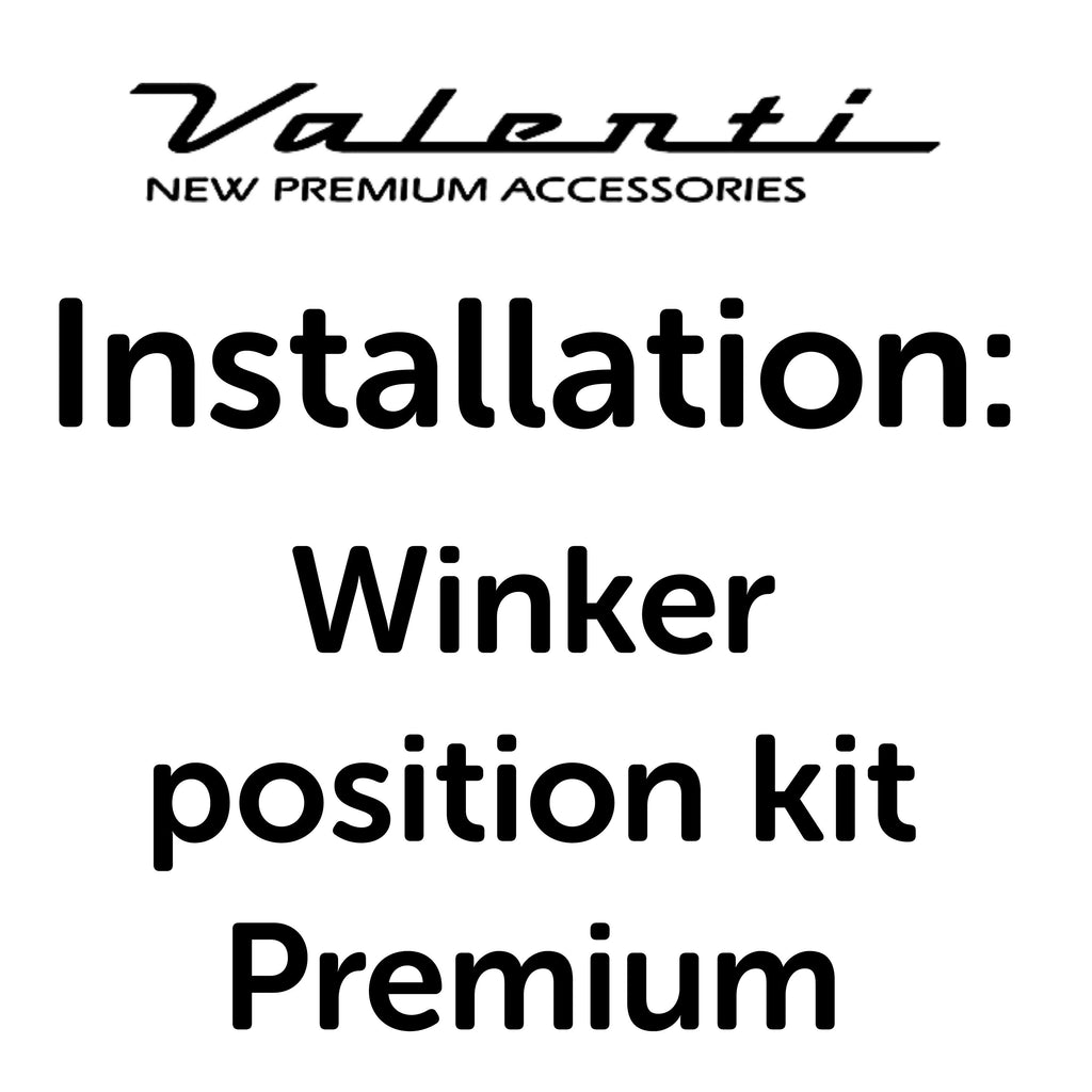 Installation VA - Winker Position Kit Premium
