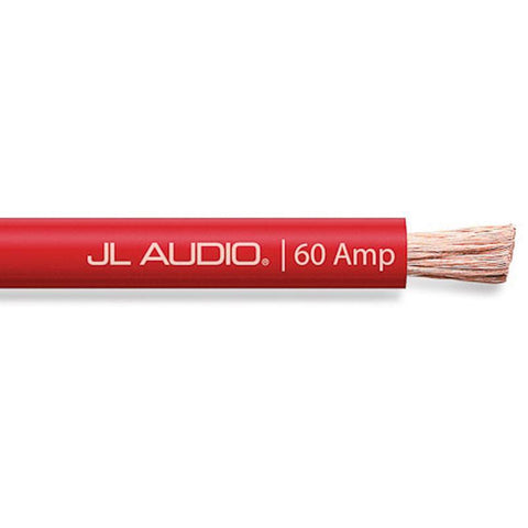 JL Audio Core Bulk Power Wire XD-RPW60A-100 Solid Red Size 60A 100ft/30.5m (SKU # 90359)