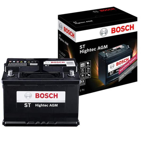 BOSCH AGM Battery for Mercedes Benz/BMW DIN LN4 (AH-80)