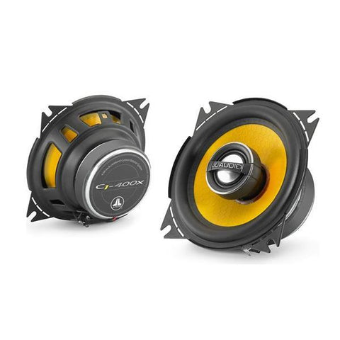JL Audio C1-400x Speaker System 4-inch (100mm) Coaxial with 0.75-inch (19mm) aluminum dome tweeter (SKU # 99040)