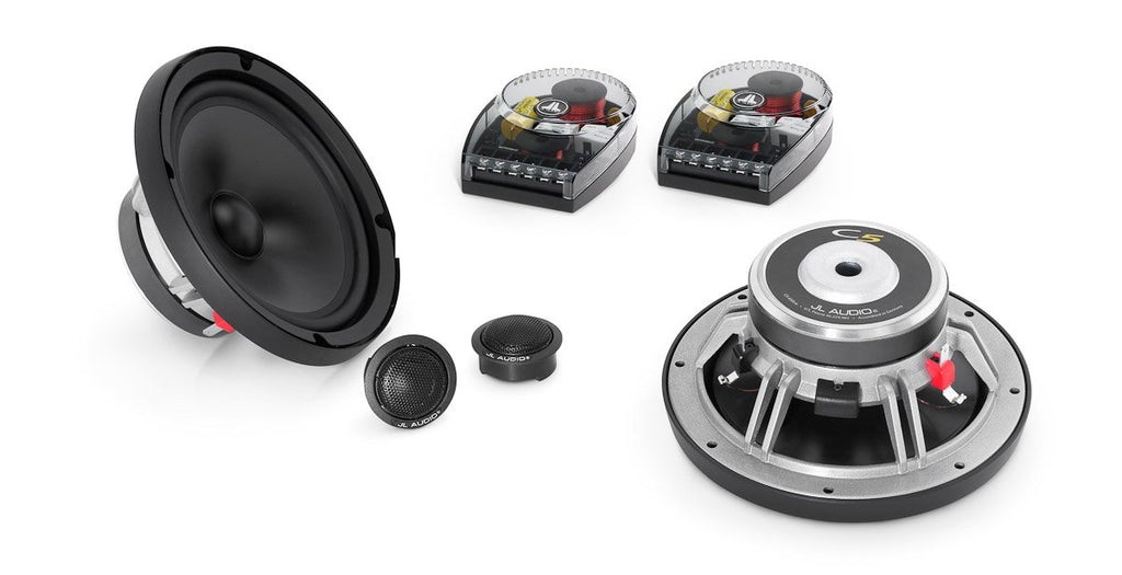 JL Audio C5-650 2-Way Component System with 6.5-inch (165mm) woofer and 0.75-inch (19mm)
