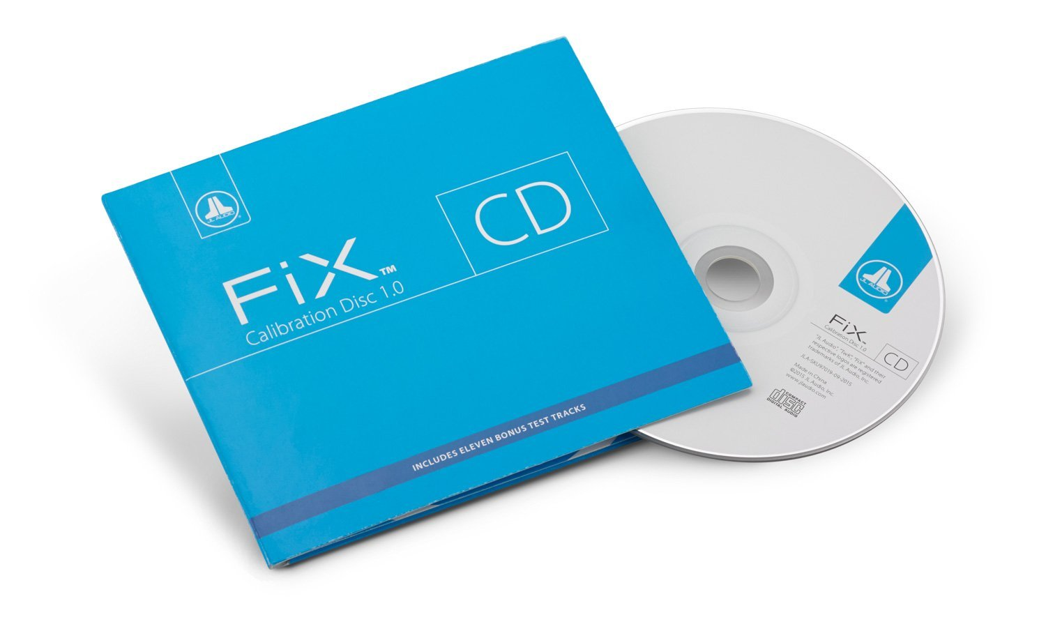 JL Audio FiX-CAL-CD FiX™ Calibration Disc (Audio CD).Includes FiX™ calibration track, test-tones