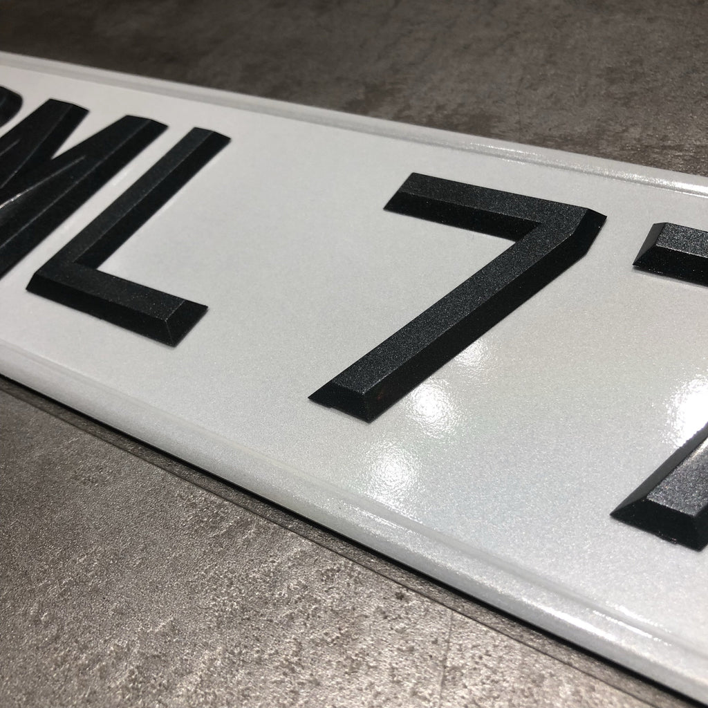 Diamond Grey (Car Plate)