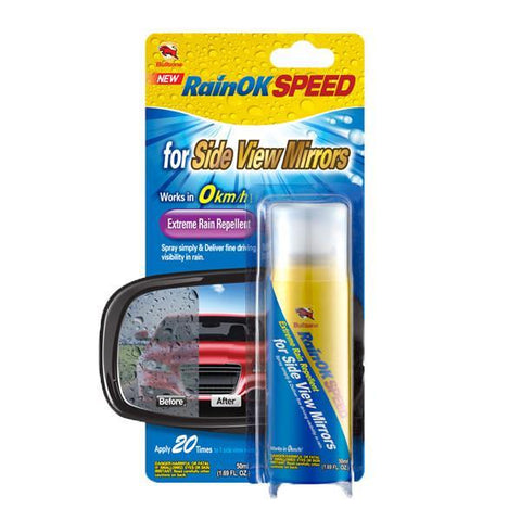 Bullsone RainOK Extreme Rain Repellent for Side View Mirror 50ml