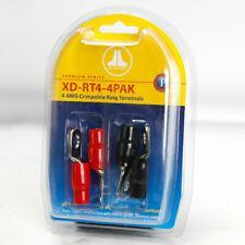 JL Audio XD-RT4-4PAK Four 4 AWG Crimpable Ring Terminals (Master Pack Quantity: 4pcs)