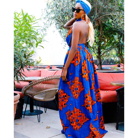 Adensecret Umah african print dress