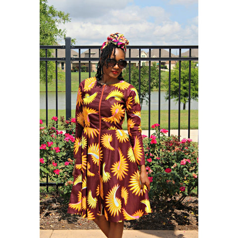 Adensecret Solape Ankara dress