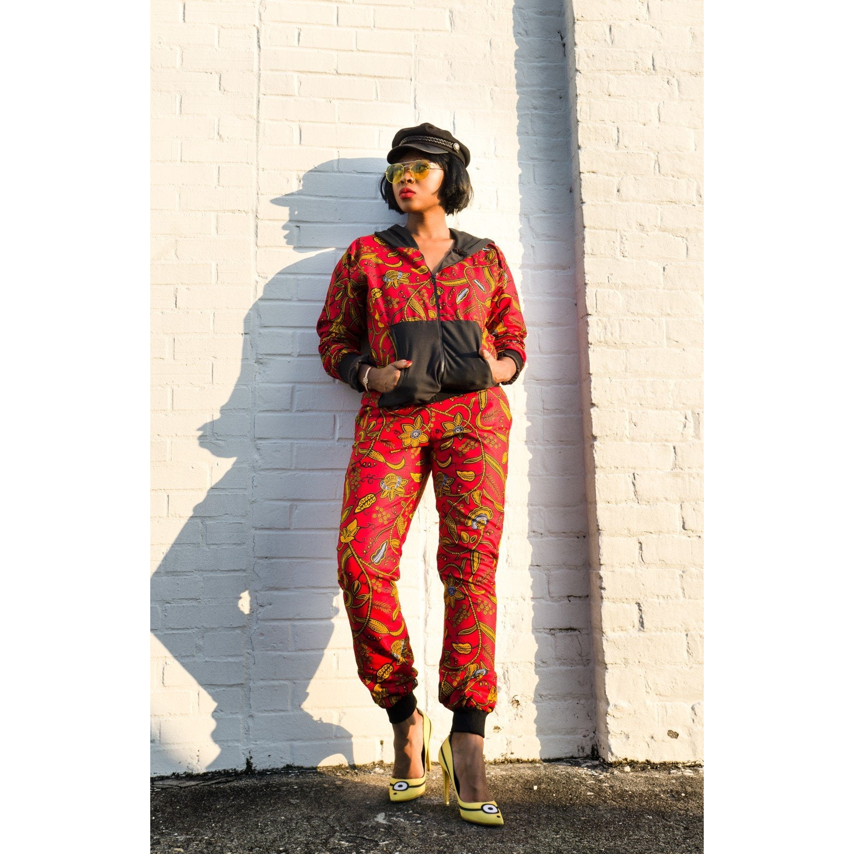 Adensecret Oba Ankara jacket and pant set