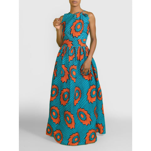 Wunmi African print Ankara Dress