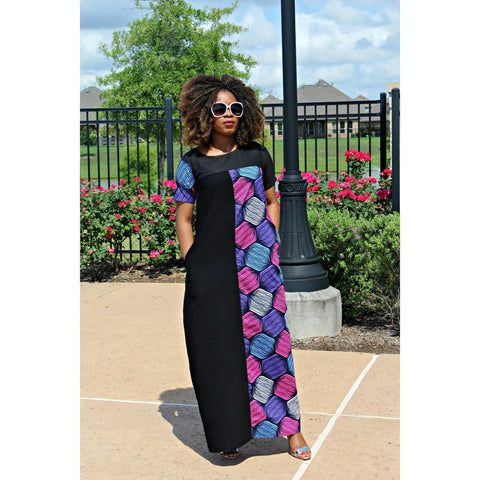 Adensecret Bolade Ankara dress