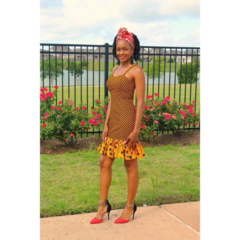Adensecret Bili Ankara dress