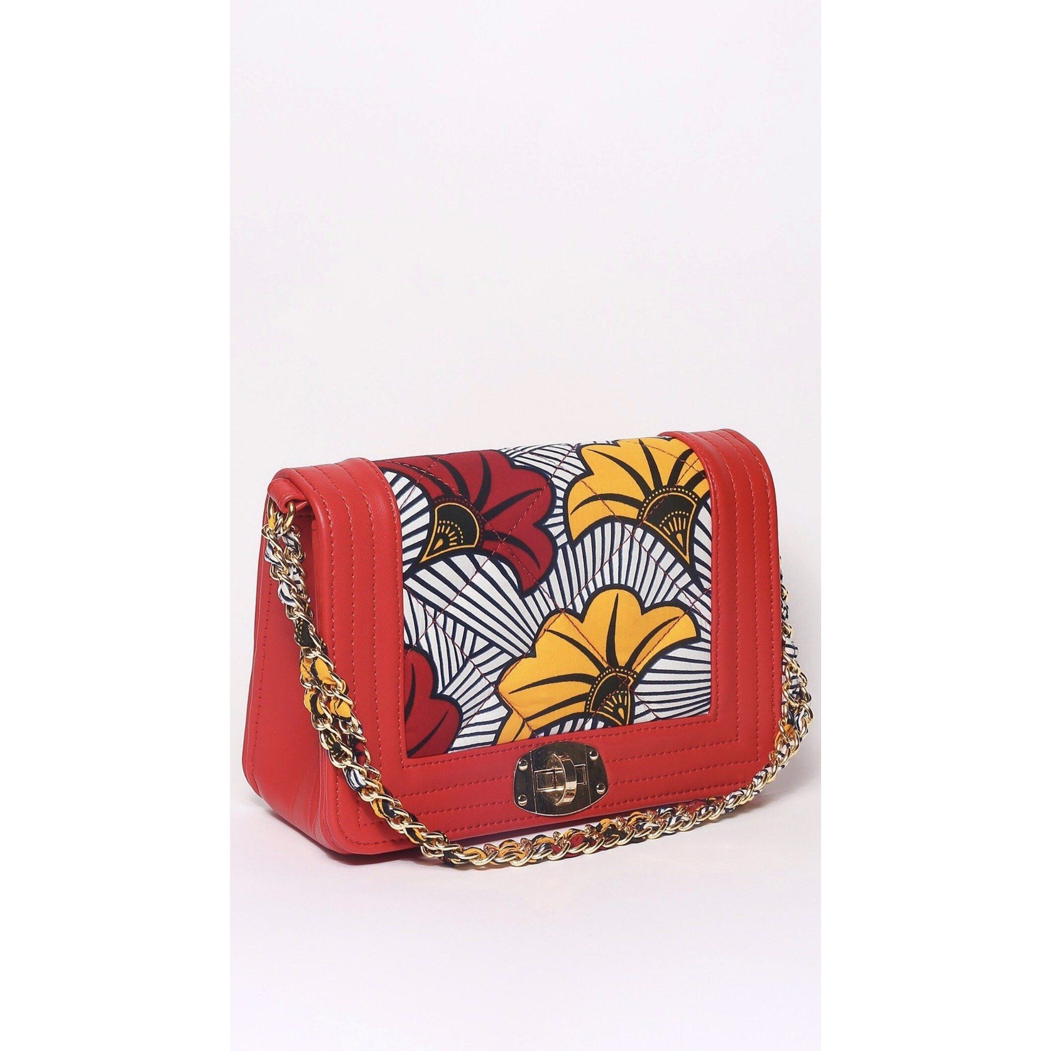 Aisha Ankara Bag