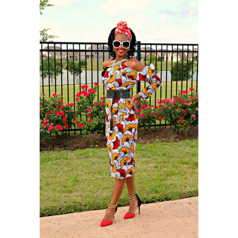 Adensecret Ayosope Ankara dress