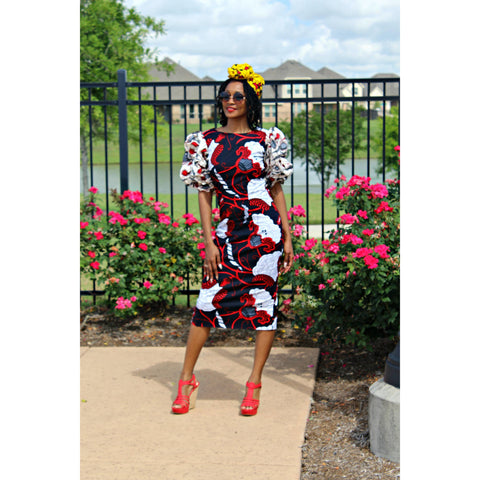 Adensecret Mosope Ankara dress