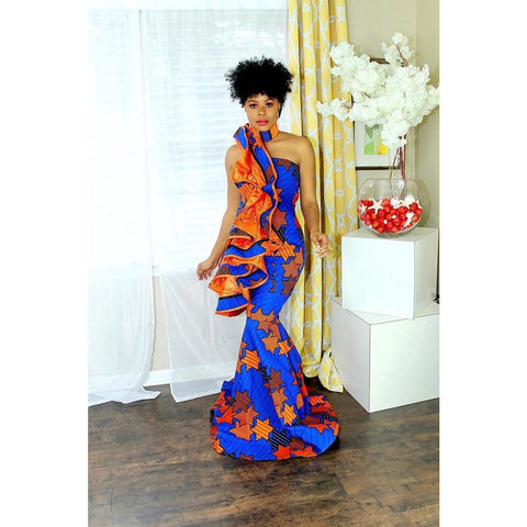 Oyekemi African Print Dress