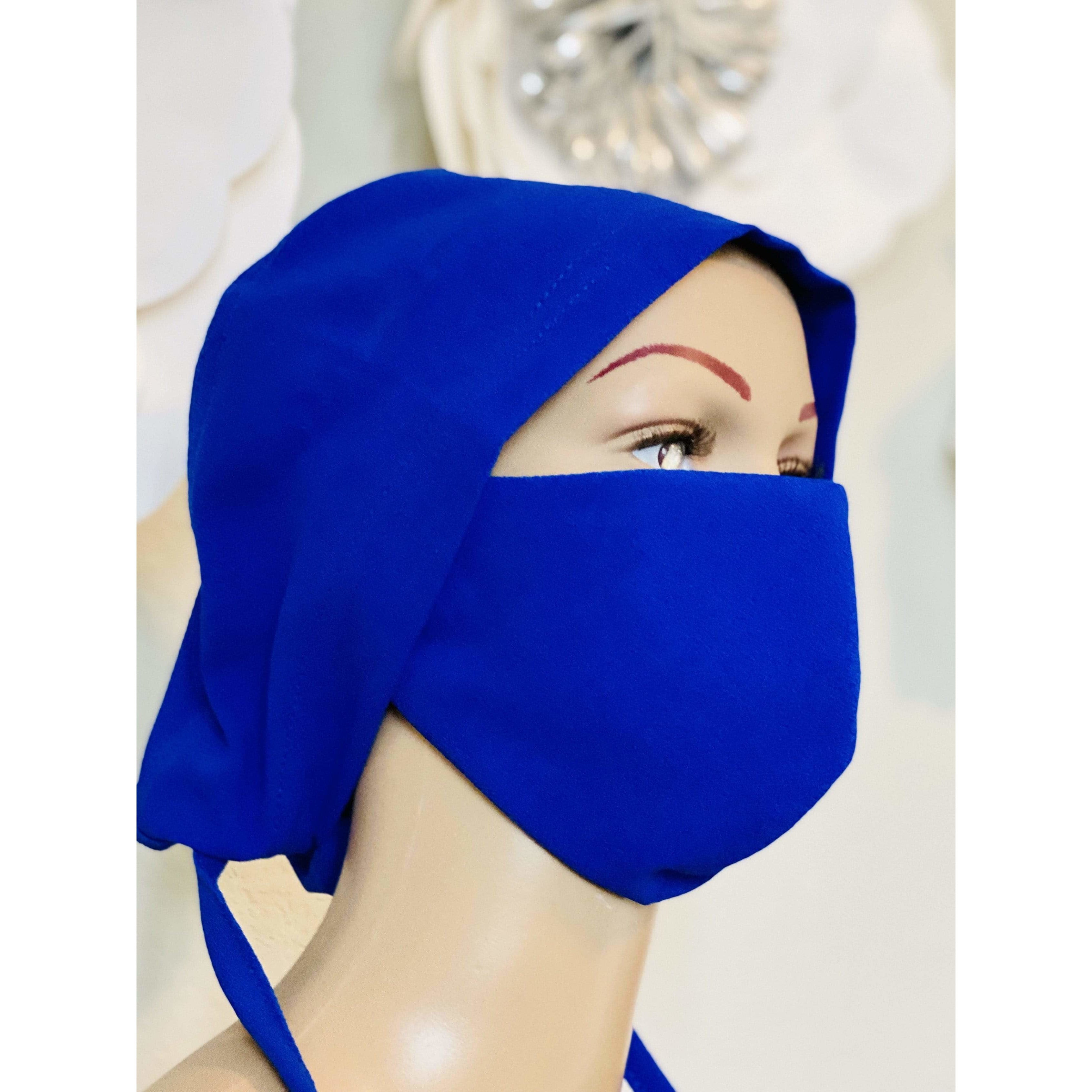 Surgical cap and matching face mask