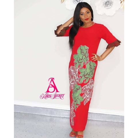 Adura  African Print Ankara Dress