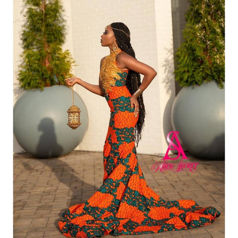 Ifedunni African Print Dress