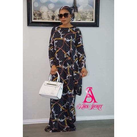 Obani Bubu kaftan Dress