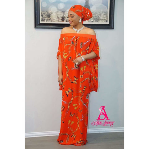 Omolola Bubu kaftan Dress