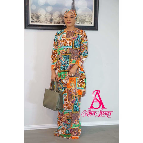 Owopeju Bubu kaftan Dress