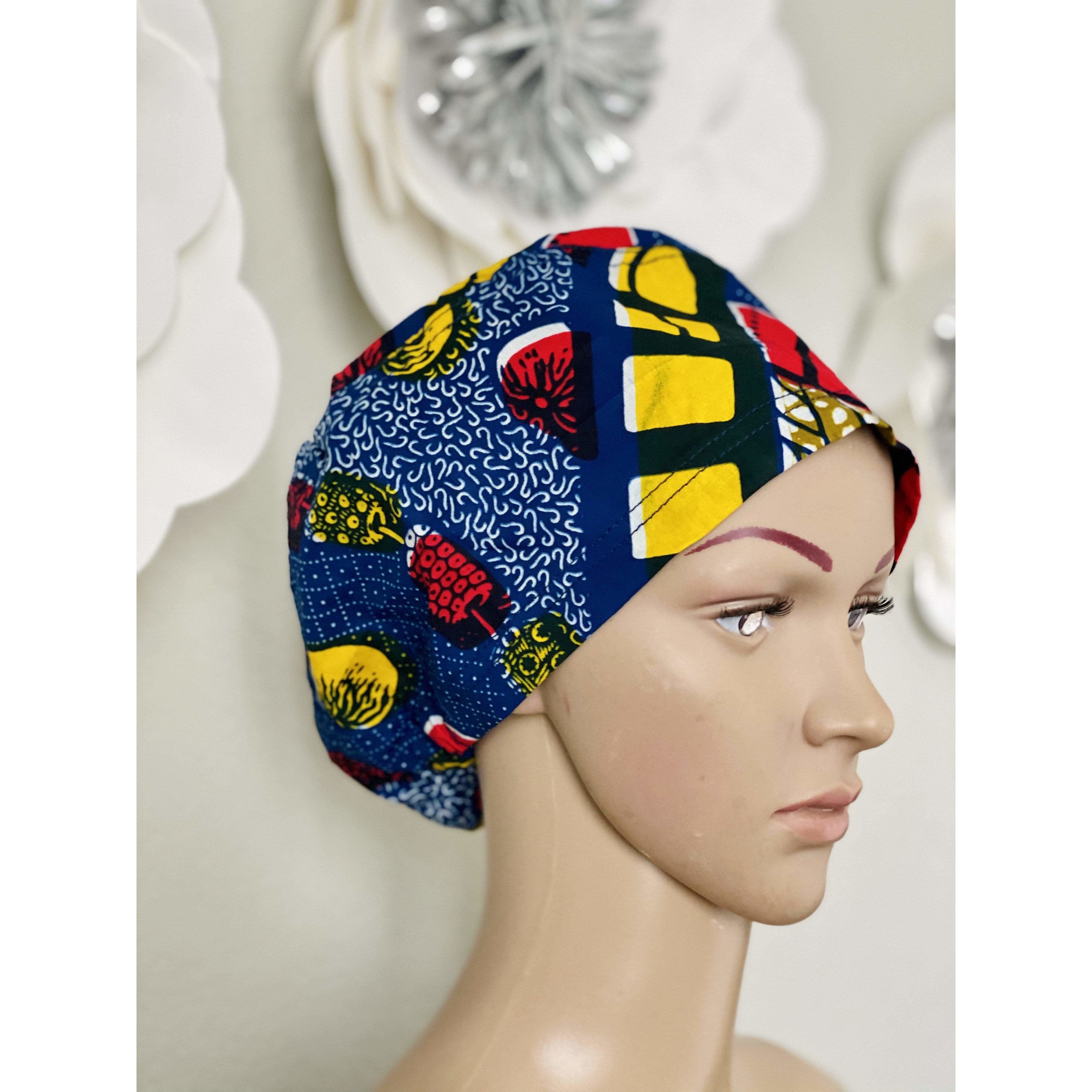 Surgical scrub hat/cap 21