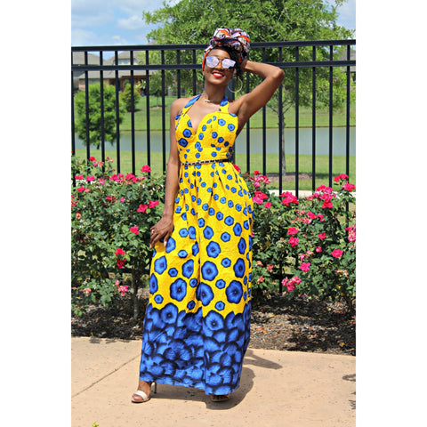 Adensecret Eyabz Ankara dress