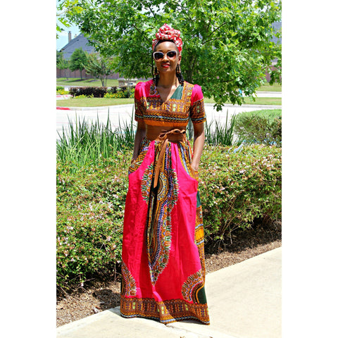 Adensecret Eyede Dashiki dress
