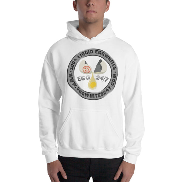 Hooded Sweatshirt - Eggwhites 24/7